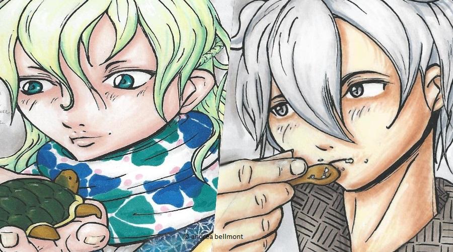 Lesezeichen für Mizuumi und Shiro: Ihr entscheidet!