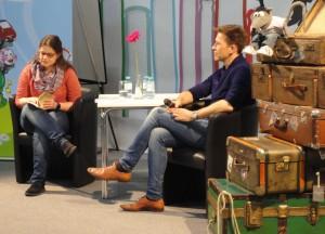Lesung aus Kame Nikki von Bettina Bellmont mit Robert Steiner und Ralf Rüdiger